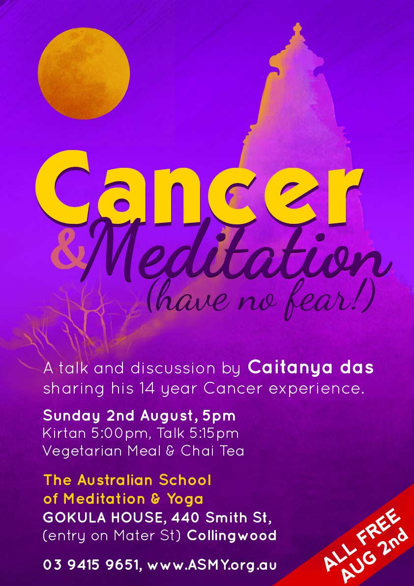 Cancer and Meditation Relaxation Melbourne