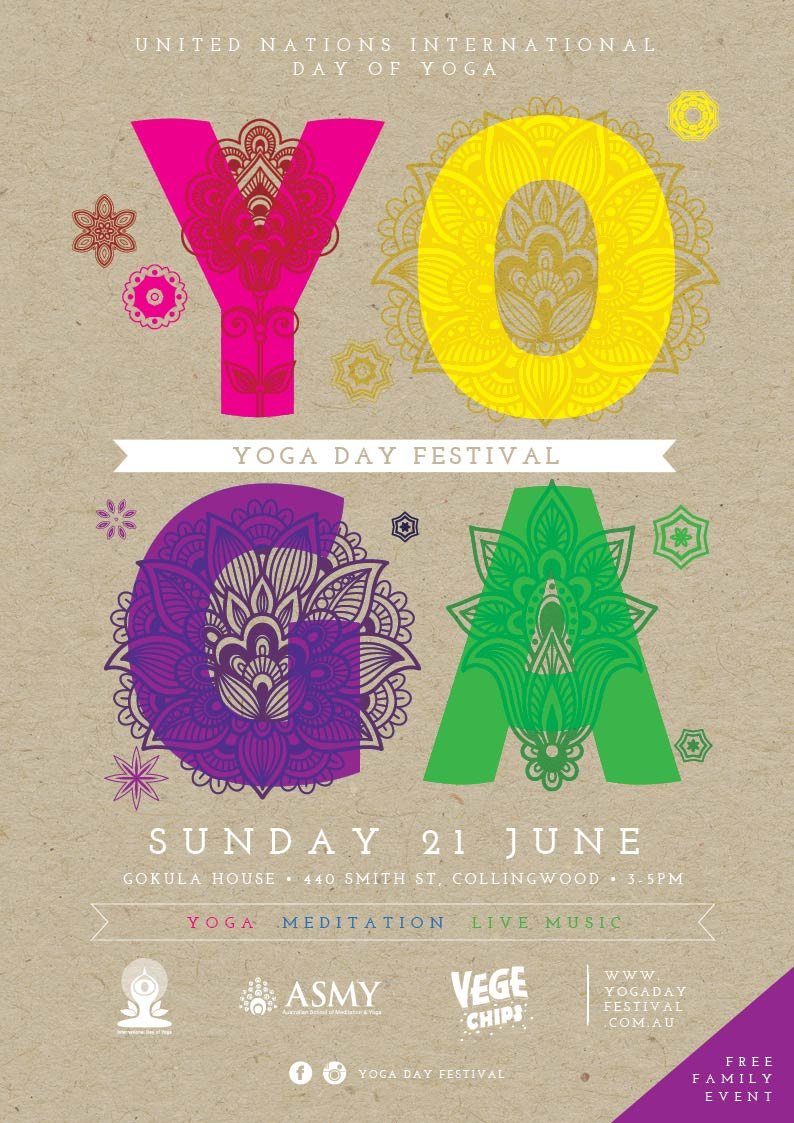 International Day of Yoga Melbourne 2015