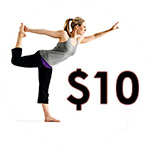Tightass Cheap Tuesday Yoga - Ten Dollar Mornings