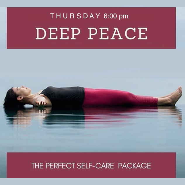 Deep Peace Guided Relaxation Melbourne