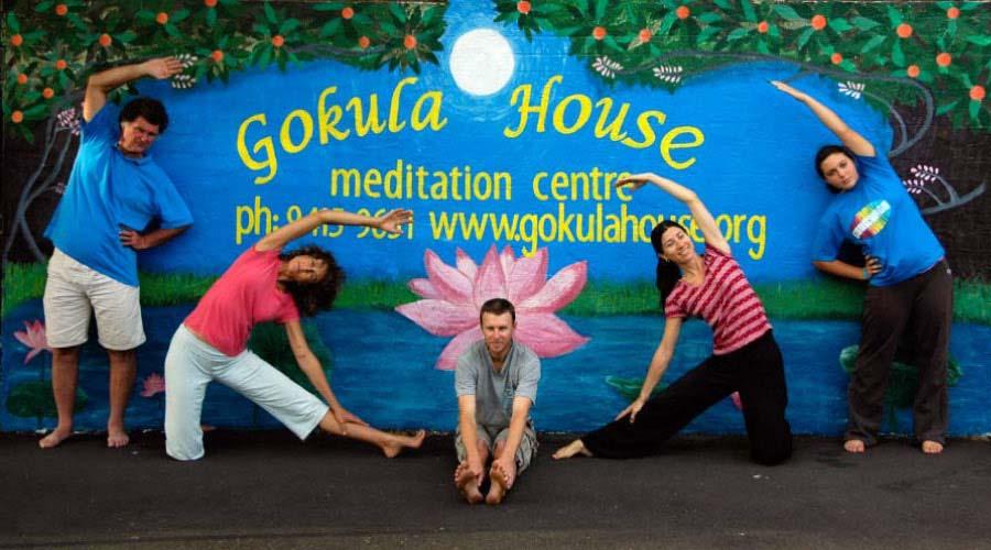 Yoga at Gokula House